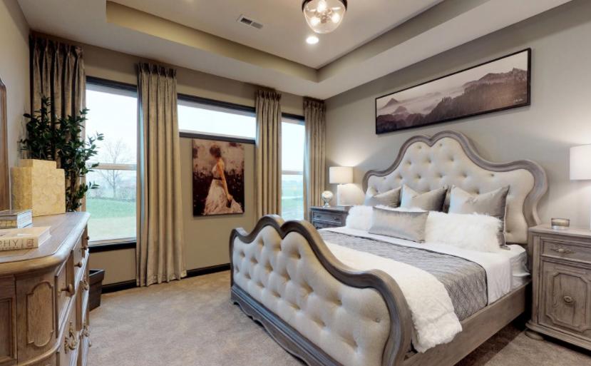 Cincinnati Patio Homes- Bedroom