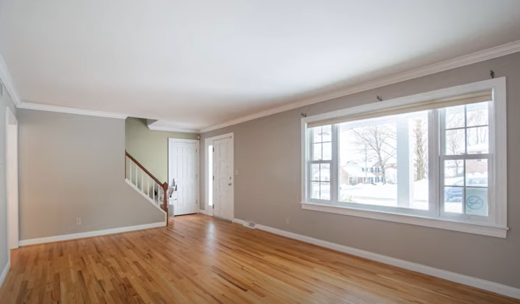 Home Staging Mistakes - Empty Space