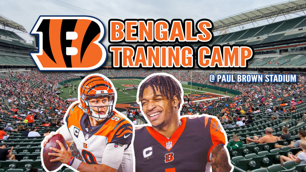 Family Day at Bengals Training Camp- Jamarr Chase