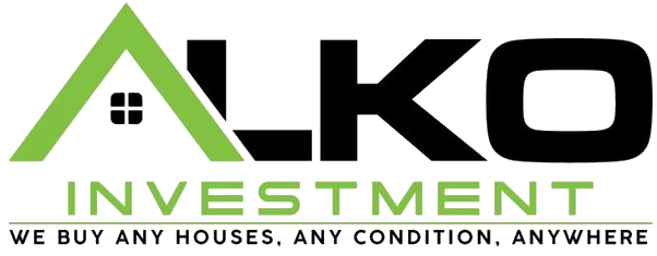 alko investment logo we buy any houses, any condition, anywhere