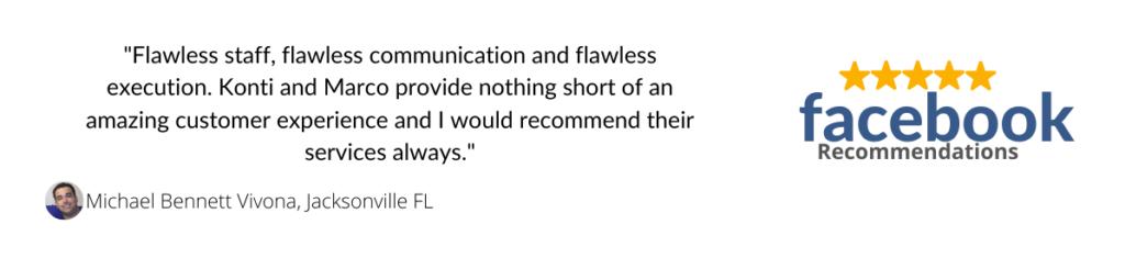 michael bennett vivona 5-star facebook review