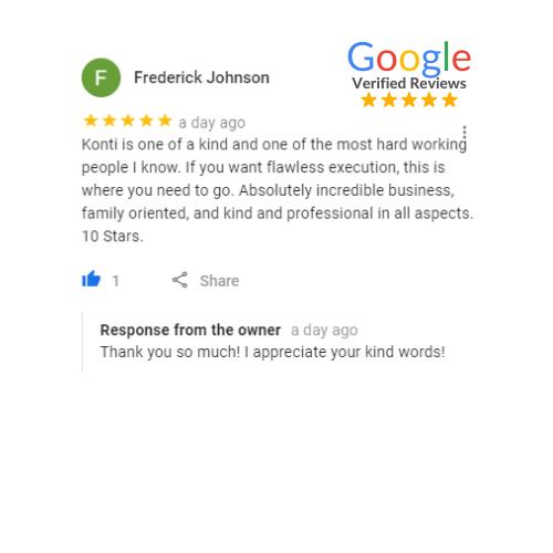 Frederick Johnson Review