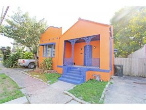 Exterior Before Renovation of House We Bought in New Orleans