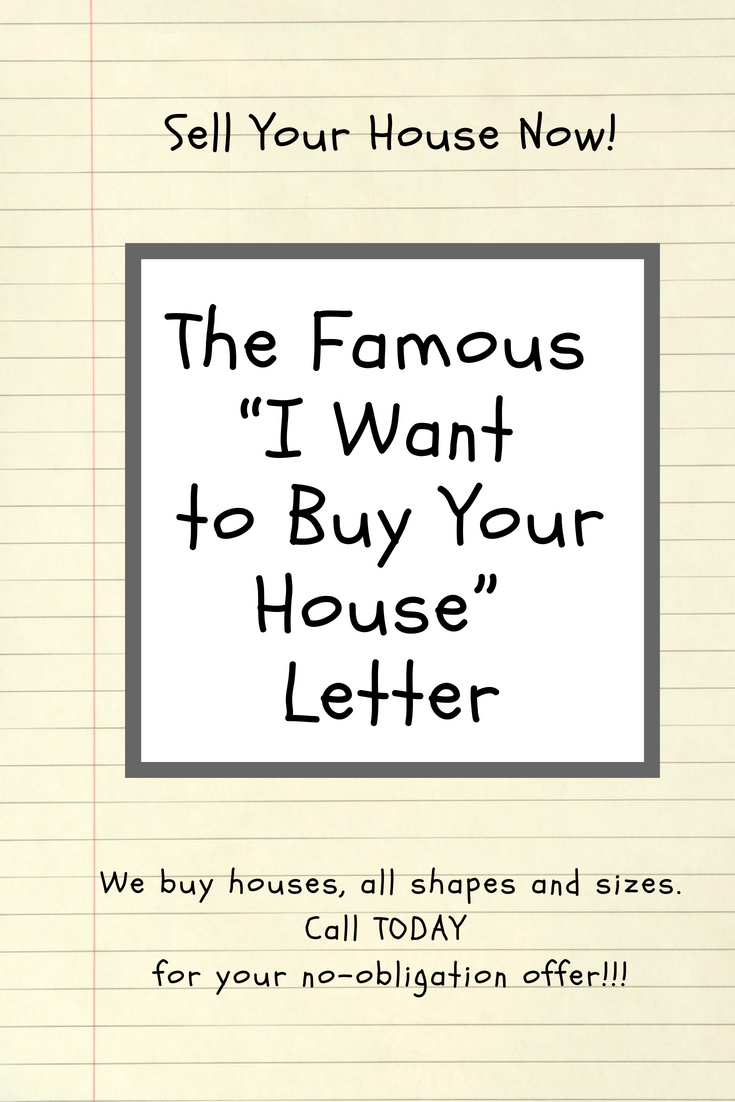 buy your house letter
