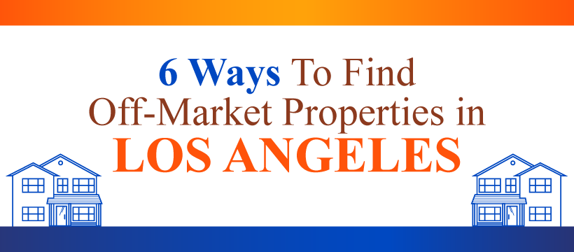 Find Off-Market Properties