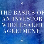 Wholesaler Agreement