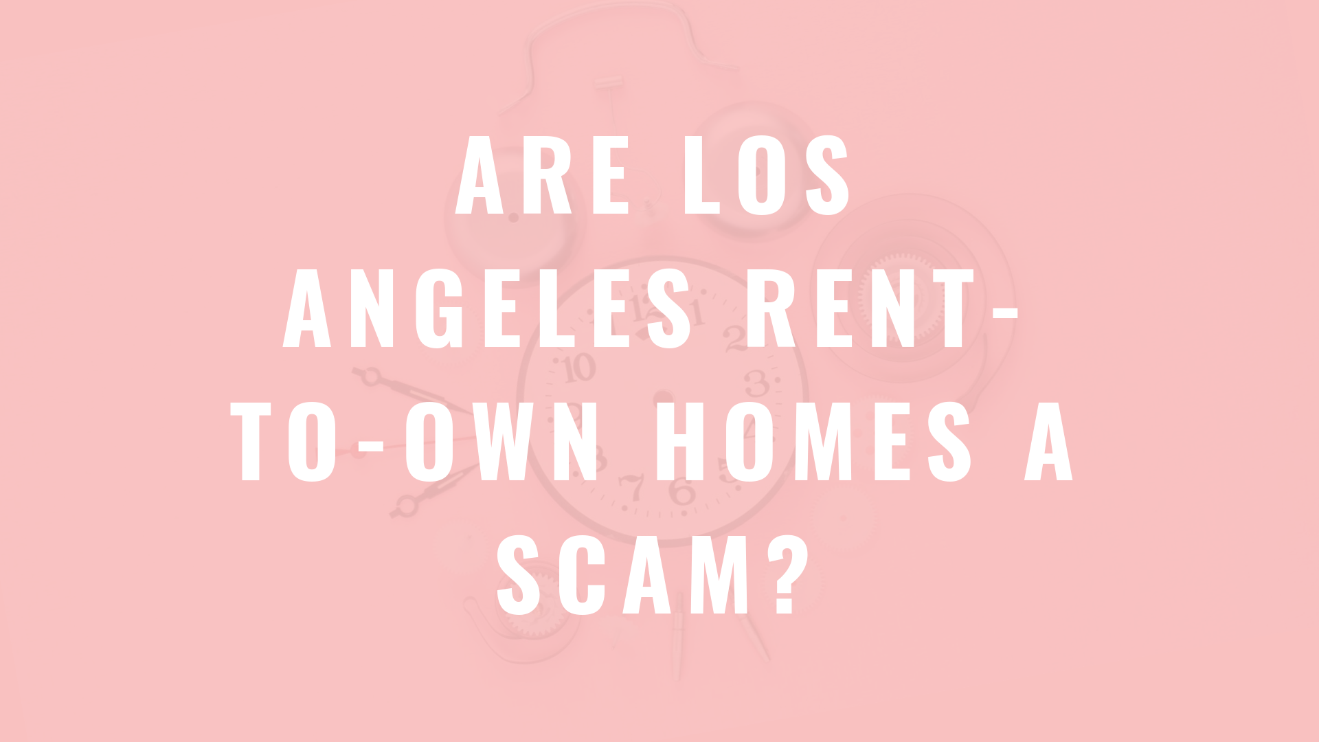 rent-to-own homes a scam