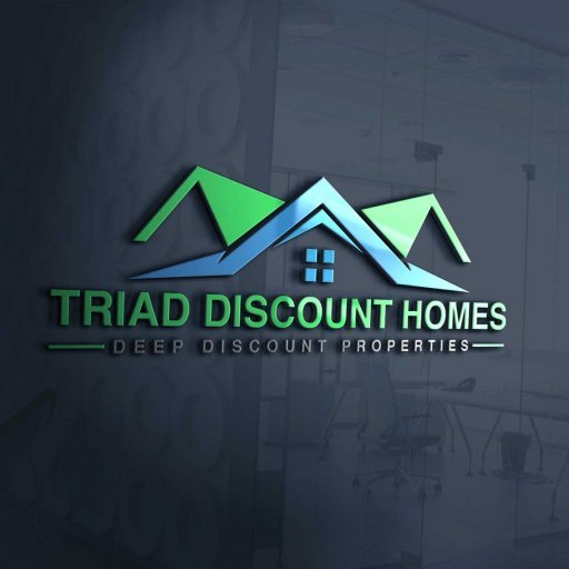 Triad Discount Homes logo