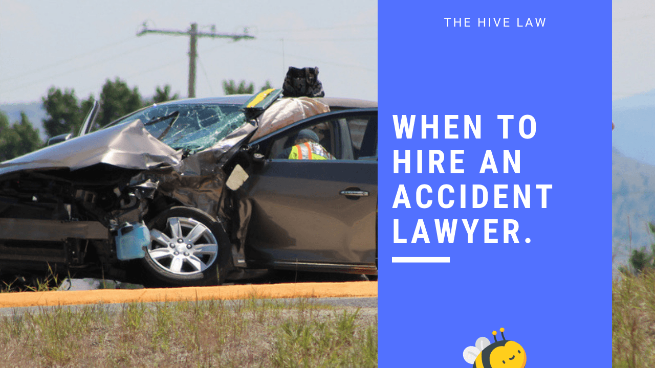When To Get An Attorney For A Car Accident Atlanta GA Georgia