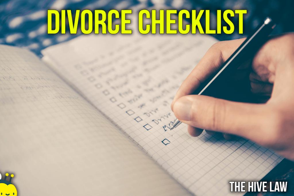 Divorce Preparation Checklist - Checklist for Divorce Preparation