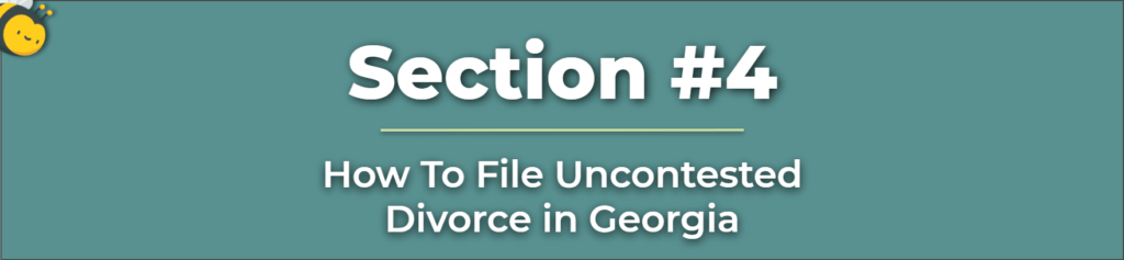 How to File Uncontested Divorce - Filing for Uncontested Divorce - Filing an Uncontested Divorce