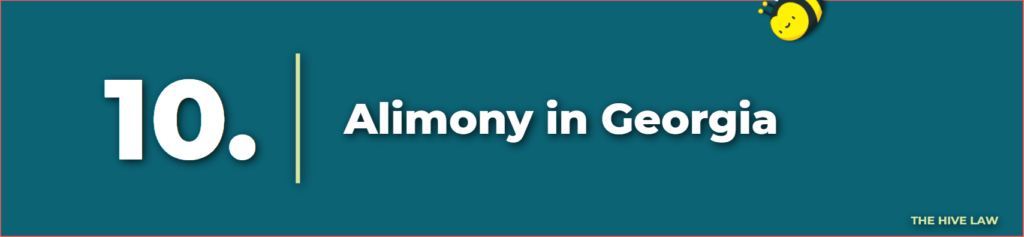 Alimony in Georgia - Spousal Support in Georgia - Best Divorce Lawyers In Atlanta