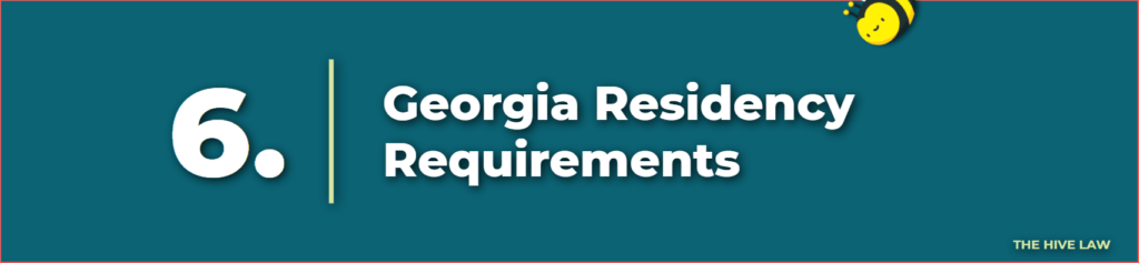 Georgia Residency Requirements - Divorce Lawyers Atlanta - Divorce Attorneys Atlanta GA - Atlanta Divorce Lawyer