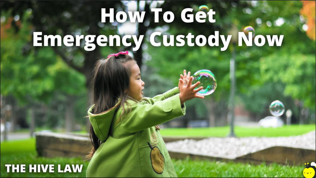 Emergency Custody - Emergency Temporary Custody - Emergency Custody Order - Emergency Child Custody - Emergency Custody Hearings