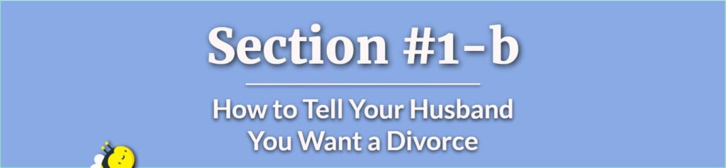 How to Tell Your Husband You Want a Divorce - Should I Leave My Husband - How to Leave Your Husband