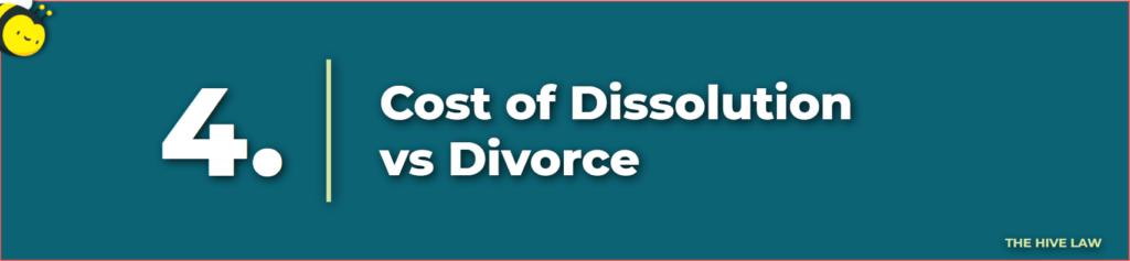 cost of dissolution vs divorce - dissolution of marriage - divorce vs dissolution - marital dissolution