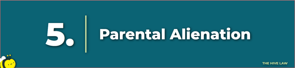 parental alienation - mother not letting father see child - mother keeping child from father