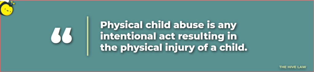 physical child abuse - what is physical child abuse - mother loses custody to father - can a father get full custody