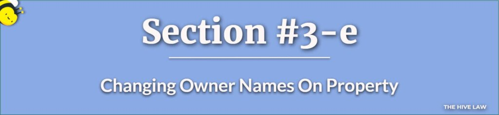 Change Owner Names On Property With a Georgia Quit Claim Deed