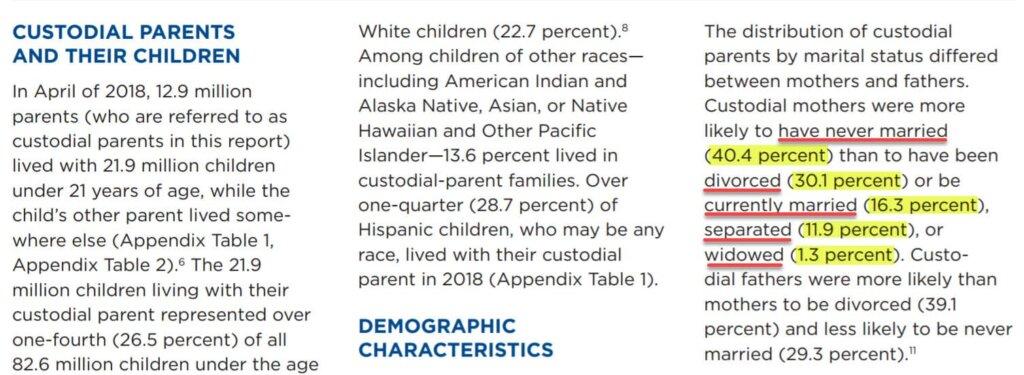 Child Custody Statistics - Fathers Custodial Rights - Custody For Fathers - Father Custody Rights