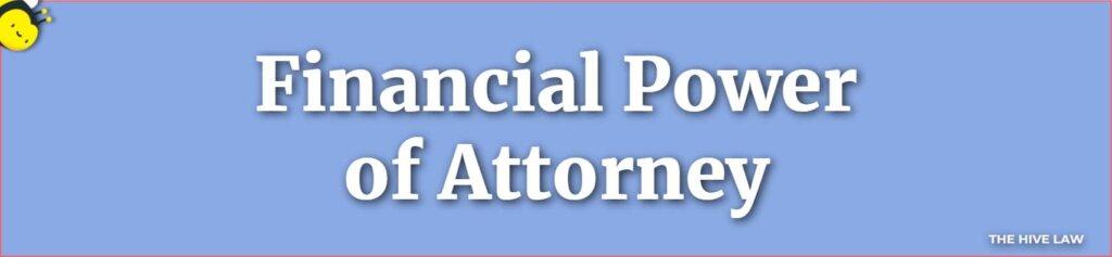 Financial Power of Attorney Georgia - Georgia Financial Power of Attorney - What Are The Four Types Of Power Of Attorney