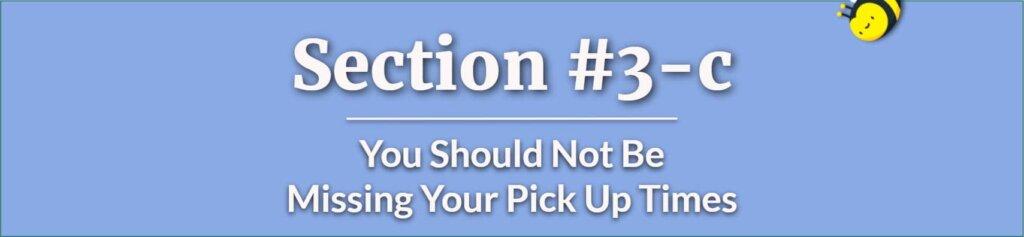 Missing Pick Up Times - Parental Custody - Visitation Schedule - Custody Issues