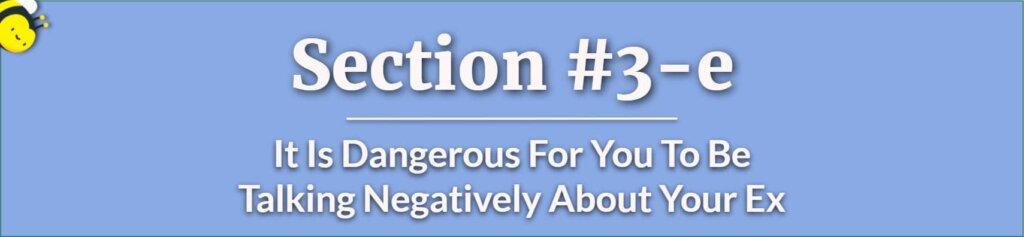 Negative Talk - Custody Battle - Child Custody - Losing Custody