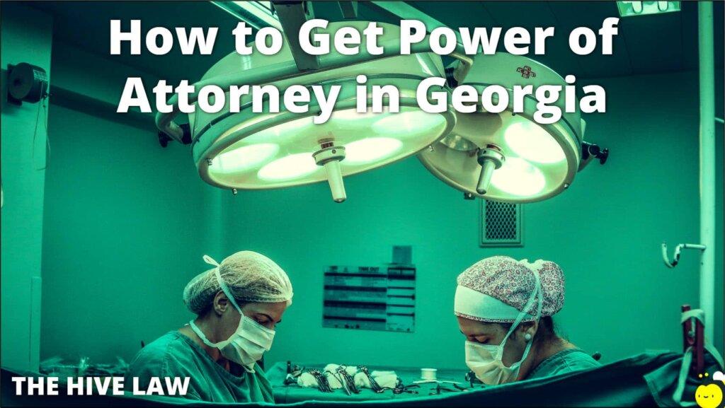 Power Of Attorney Georgia - Georgia Power of Attorney - Power of Attorney Form Georgia - POAGeorgia - POA Georgia