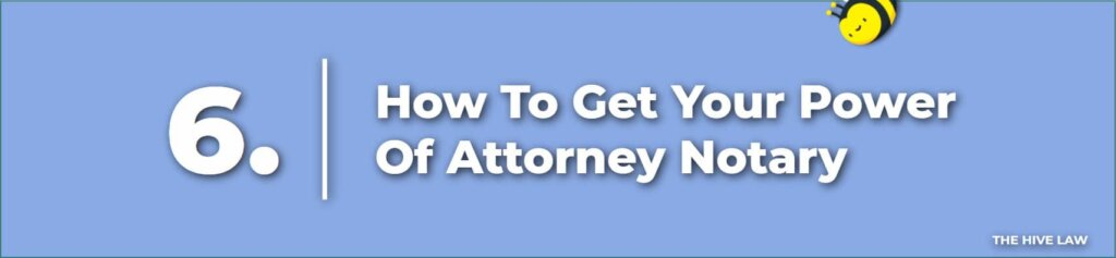 Power Of Attorney Notary - Does A Power Of Attorney Need To Be Notarized
