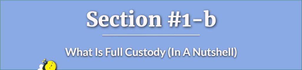 What Is Full Custody - father custody right - child custody rights for fathers - How Can A Father Get Full Custody of His Child