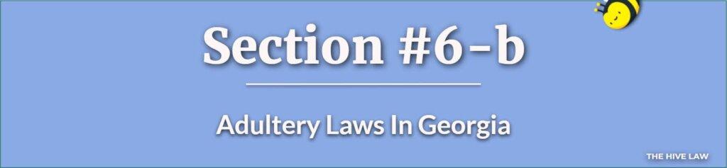 Adultery Laws In Georgia