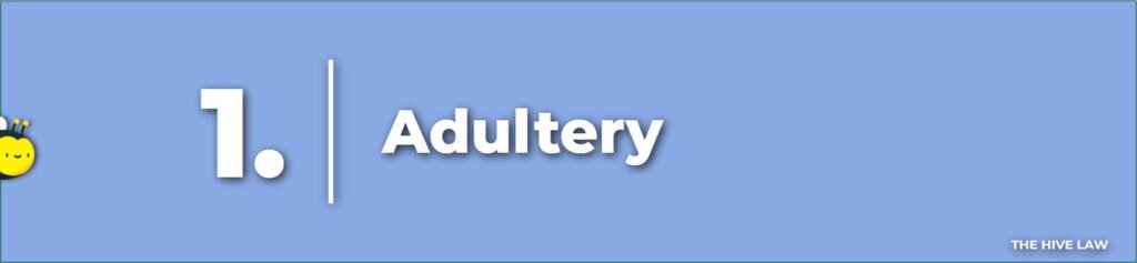 Adultery - Legal Reasons For Divorce - Tops Reasons For Divorce - Number One Reason For Divorce - Grounds For Divorce