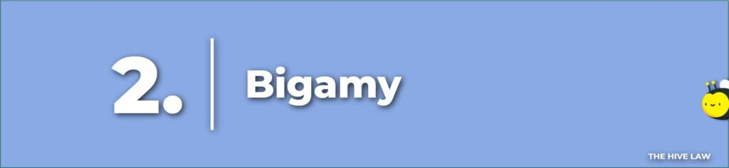 Bigamy- Legal Reasons For Divorce - Tops Reasons For Divorce - Number One Reason For Divorce - Grounds For Divorce