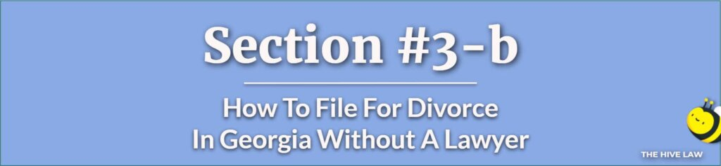 How To File For Divorce In Georgia Without A Lawyer