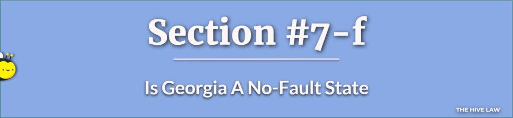 Is Georgia A No-Fault State