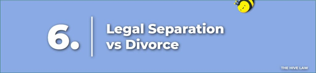 Legal Separation vs Divorce - Separation vs Divorce - Difference Between Separation And Divorce - filing for separation in ga