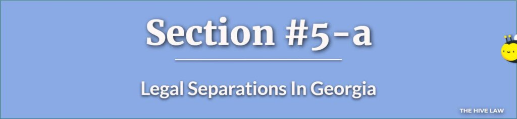 Legal Separations In Georgia - How To File For Legal Separation In Georgia