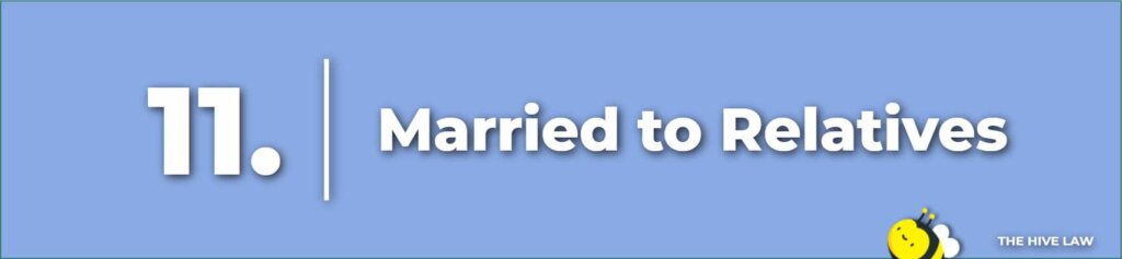 Married to Relatives- Legal Reasons For Divorce - Tops Reasons For Divorce - Number One Reason For Divorce - Grounds For Divorce