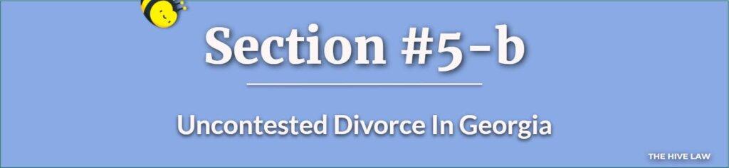 Uncontested Divorce In Georgia - Georgia Divorce