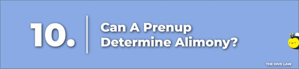 Can A Prenuptial Agreement In Colorado Determine Alimony