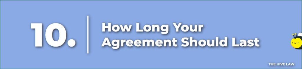 How Long Your Agreement Should Last - Prenuptial Agreement Checklist
