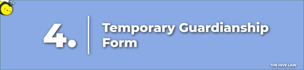 Temporary Guardianship Form - Temporary Guardianship Without Court - How To Terminate Temporary Guardianship