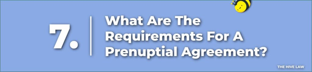 What Are The Requirements For A Prenuptial Agreement In Colorado