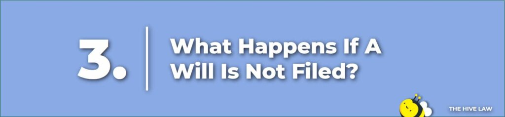 What Happens If A Will Is Not Filed - Does A Last Will And Testament Need To Be Filed In Court - How Long Do You Have To Probate A Will After Death