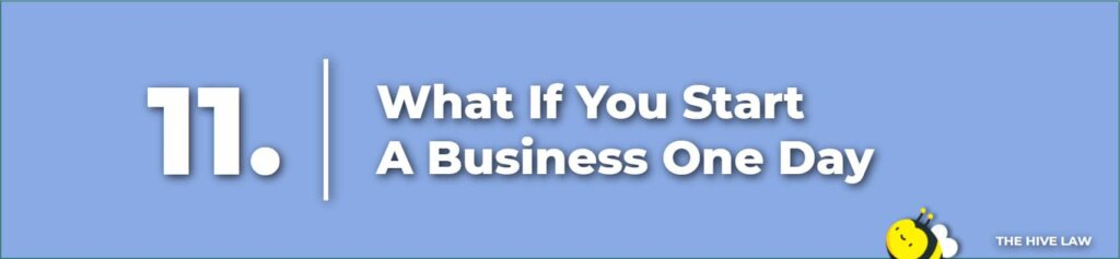 What If You Start A Business One Day - Prenuptial Agreement Checklist