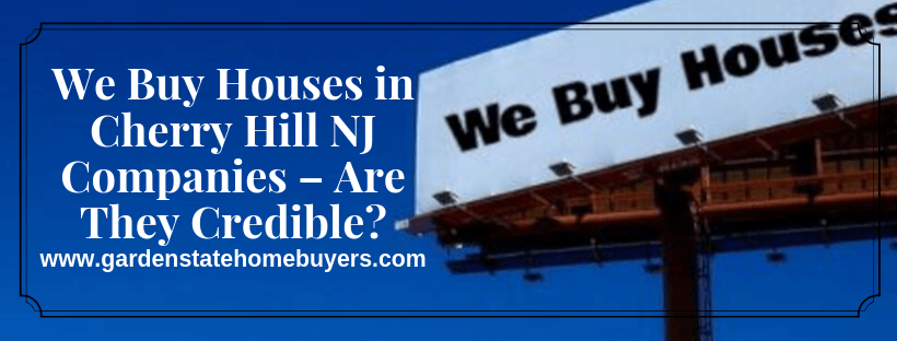We Buy Houses in Cherry Hill NJ