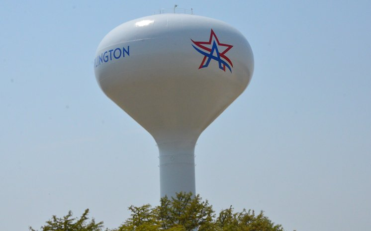 water tower in Arlington TX on the sell your house fast for cash in Arlington TX page