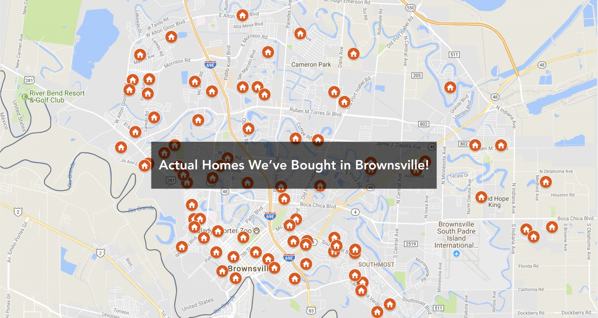 Houses We bought for cash in Brownsville TX.