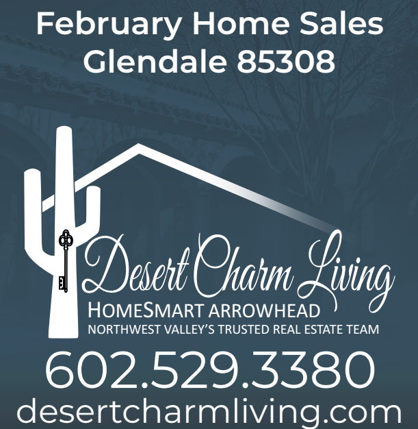 Recently Sold Homes In Glendale 85308 February 2019
