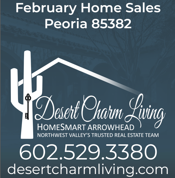 Recently Sold Homes In Peoria 85382 February 2019